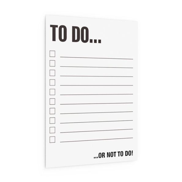TODO WHITE (set of 10)