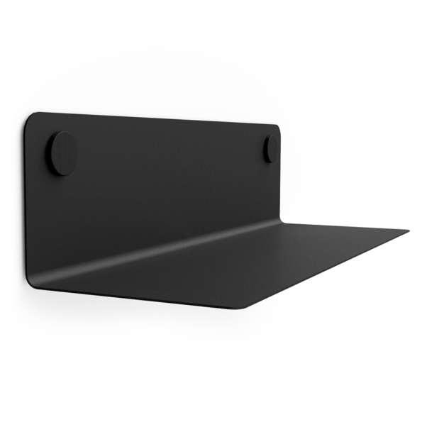 FLOAT SHELF 60 BLACK w. black Dots