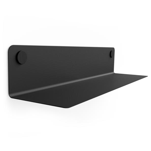 FLOAT SHELF 80 BLACK w. black Dots