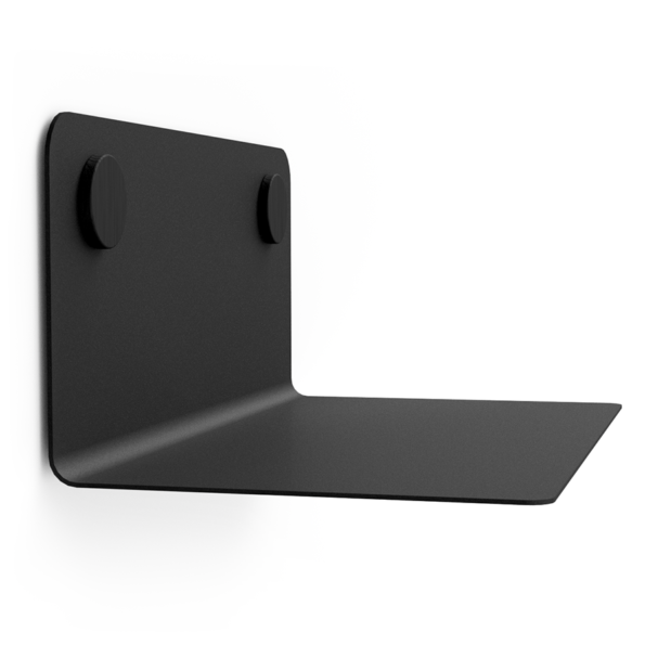 FLOAT SHELF 35 BLACK w. black Dots
