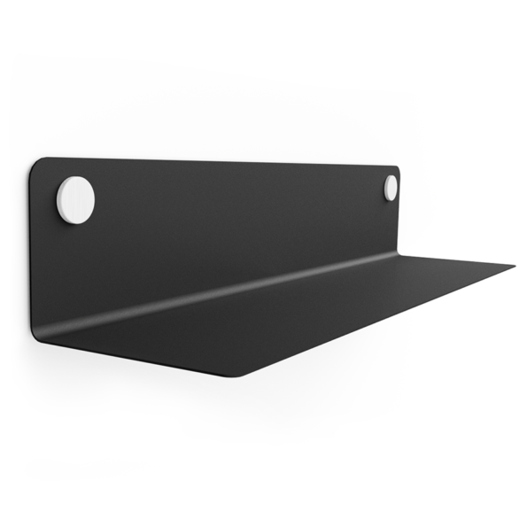FLOAT SHELF 80 BLACK w. white Dots