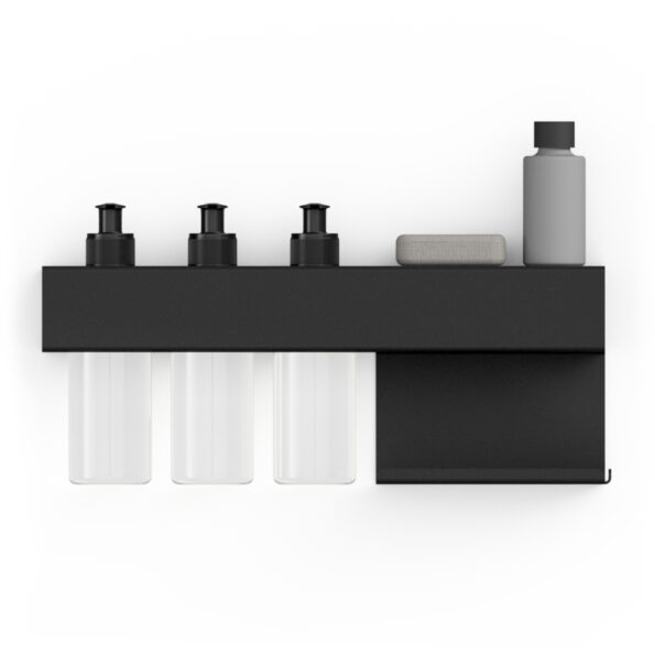 BATH RACK BLACK