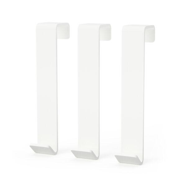 HOOKS WHITE (set of 3)