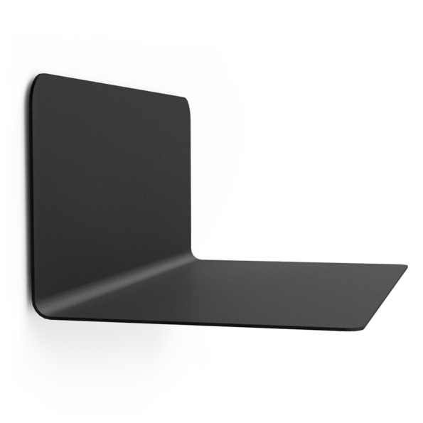 FLOAT SHELF 35 BLACK without Dots