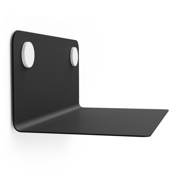 FLOAT SHELF 35 BLACK w. white Dots