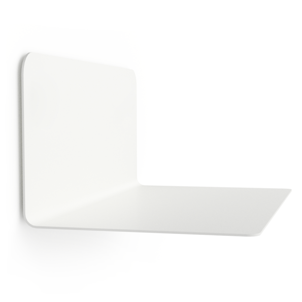 FLOAT SHELF 35 WHITE without Dots