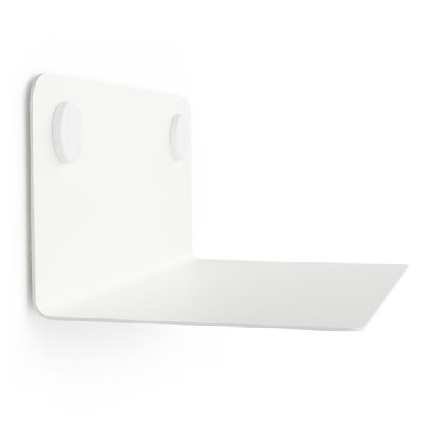 FLOAT SHELF 35 WHITE w. white Dots