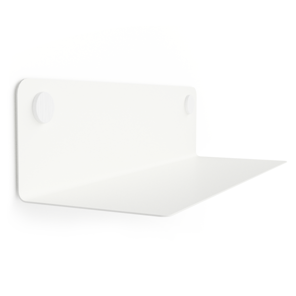 FLOAT SHELF 60 WHITE w. white Dots